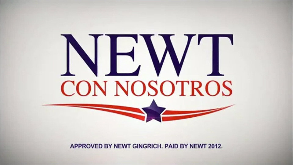 Latinos con Newt