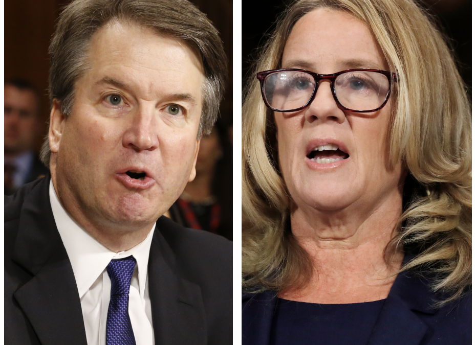 Oh no, a rich frat boy is crying! … Are we supposed to feel sorry for Brett Kavanaugh?