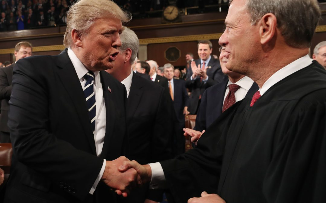 Chief Justice John Roberts got political himself when he rebuked Trump on judges