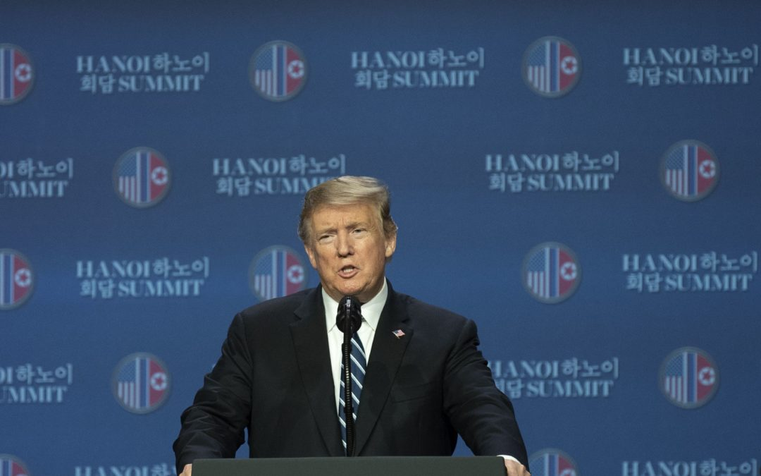 President's diplomatic approach to North Korea is artful