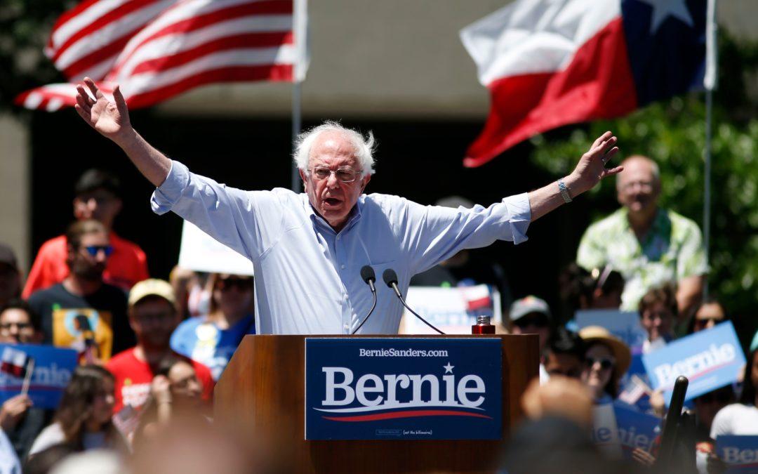 Bernie Sanders: Everyone deserves to vote, even felons like Paul Manafort & Michael Cohen