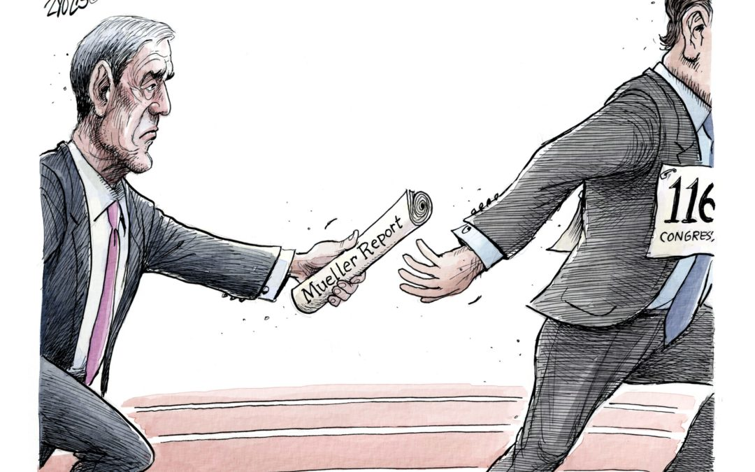 The nation's most important handoff: Today's Toon